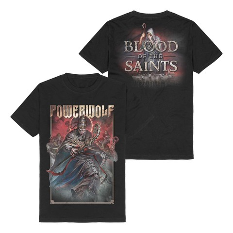 Blood Of The Saints by Powerwolf - t-shirt - shop now at Powerwolf store