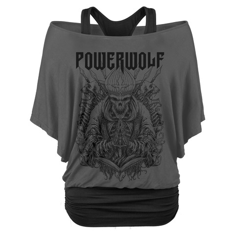 Skull Saint by Powerwolf - Double Layer Top - shop now at Powerwolf store