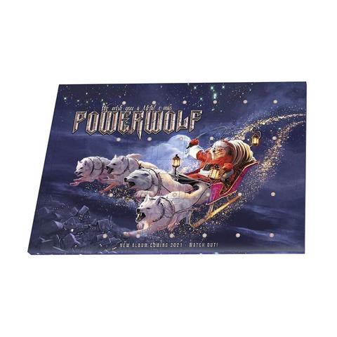 Metal X-Mas 2020 von Powerwolf - Schokoladen Weihnachtskalender jetzt im Powerwolf Shop